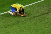 Neymar, el 10 de Brasil, cuando terminó el partido que eliminó a Brasil. Bélgica pasa a la semifinal. Saeed Khan/Agence France-Presse — Getty Images