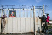 Tatiana Fernández The border gate on the bridge between Ouanaminthe, Haiti, and Dajabón, Dominican Republic