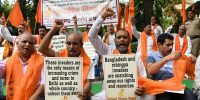 Cerca de una limpieza étnica en la India