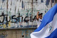 El 26 de julio de 2018 se organizó una manifestación en Managua para conmemorar los cien días de protestas ciudadanas contra el gobierno de Daniel Ortega en Nicaragua. Credit Marvin Recinos/AFP — Getty Images