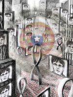 La bota de Orwell, entre lazos y samarretas