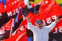 El presiente de Nicaragua, Daniel Ortega, en la celebración del 39 aniversario de la Revolución sandinista, el 19 de julio de 2018 Credit Oswaldo Rivas/Reuters
