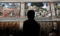Inside the Sistine Chapel, in Vatican City.CreditCreditSpencer Platt/Getty Images