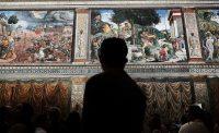 Inside the Sistine Chapel, in Vatican City.CreditCreditSpencer Platt/Getty Images