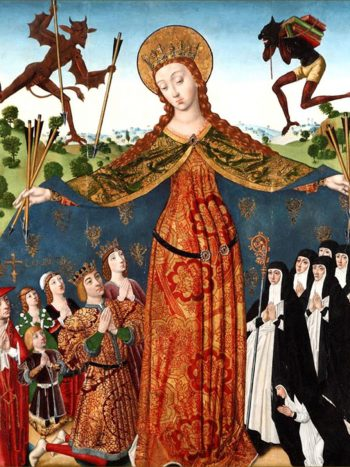 'La Virgen de la Misericordia con los Reyes Católicos y su familia', obra de Diego de la Cruz.