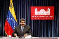 El presidente de Venezuela, Nicolás Maduro, durante una conferencia de prensa en el Palacio de Miraflores en Caracas, el 18 de septiembre de 2018 Credit Marco Bello/Reuters
