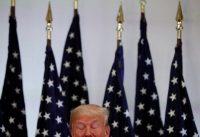 El presidente de Estados Unidos, Donald Trump, durante una conferencia de prensa el 26 de septiembre de 2018 Credit Carlos Barria/Reuters
