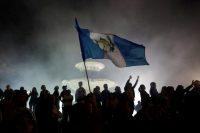 El 14 de septiembre de 2018, en Ciudad de Guatemala, se llevó a cabo una manifestación para apoyar a la Comisión Internacional Contra la Impunidad en Guatemala (Cicig). Credit Reuters