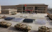 Sur la base militaire chinoise à Djibouti. AFP / STR