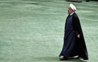 Iranian President Hassan Rouhani arrives at the Iranian Parliament in the capital Tehran, in August.CreditAtta Kenare/Agence France-Presse — Getty Images