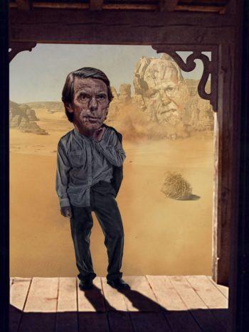 Aznar sale del desierto