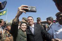 Bolsonaro, le 3 mai, à São Paulo. Photo Paulo Lopes. Zuma Press. REA
