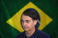 Jair Bolsonaro, candidato de extrema derecha para las elecciones presidenciales de Brasil, en Río de Janeiro antes de votar en la primera vuelta, el 7 de octubre de 2018. Credit Mauro Pimentel/Agence France-Presse — Getty Images