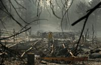 Un parque de remolques destruido por el fuego que arrasó Paradise, California, este mes Credit John Locher/Associated Press