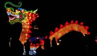 Festival chino en Pakruojis, Lithuania, este sábado. INTS KALNINS REUTERS