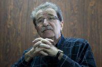 El intelectual, político y economista Teodoro Petkoff en Caracas, en mayo de 2015. Credit Miguel Gutiérrez/EPA-EFE/REX