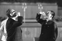 Toasting the thaw: Secretary of State Henry A. Kissinger and Premier Zhou Enlai at a state banquet in Beijing. Associated Press