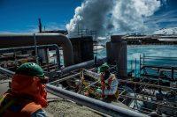 Una planta geotérmica en Chile Credit Meridith Kohut para The New York Times