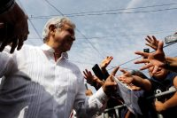 Andrés Manuel López Obrador en Ciudad de México, en mayo de 2018 Credit Carlos Jasso/Reuters
