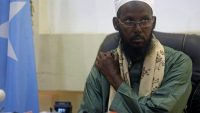Former al Shabaab leader Mukhtar Robow Abu Mansur attends a news conference in Mogadishu, Somalia on 15 August 2017. REUTERS/Feisal Omar
