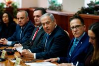 Israeli Prime Minister Benjamin Netanyahu at the weekly cabinet meeting in Jerusalem on Nov. 25.CreditCreditRonen Zvulun/Agence France-Presse — Getty Images