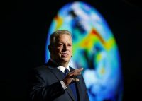 Al Gore, Climate Reality Project chairman and former U.S. vice president, speaks at the COP24 U.N. Climate Change Conference in Katowice, Poland, on Dec. 12. (Agencja Gazeta/Grzegorz Celejewski/Reuters)