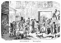 A 19th-century George Cruikshank print has fun with Boxing Day.CreditCreditThe Print Collector/Getty Images