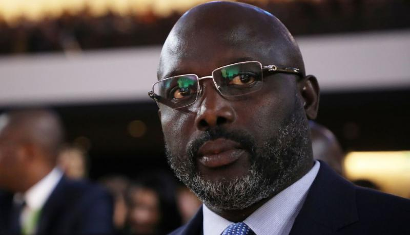 Liberian president George Weah. Photo: Getty Images.