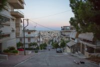 Keratsini, a working-class neighborhood in Piraeus, Greece. The poor in Greece have become poorer while the middle class struggles with a growing tax burden.CreditCreditEirini Vourloumis for The New York Times