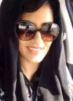 Loujain al-Hathloul in 2014, when she took a widely-viewed video of herself as she drove from the United Arab Emirates to Saudi Arabia.CreditLoujain Al-Hathloul/Loujain al-Hathloul, via Associated Press
