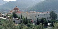 Syrie, le couvent Saint-Georges, non loin du Krak des Chevaliers. Daniel Riffet / Photononstop