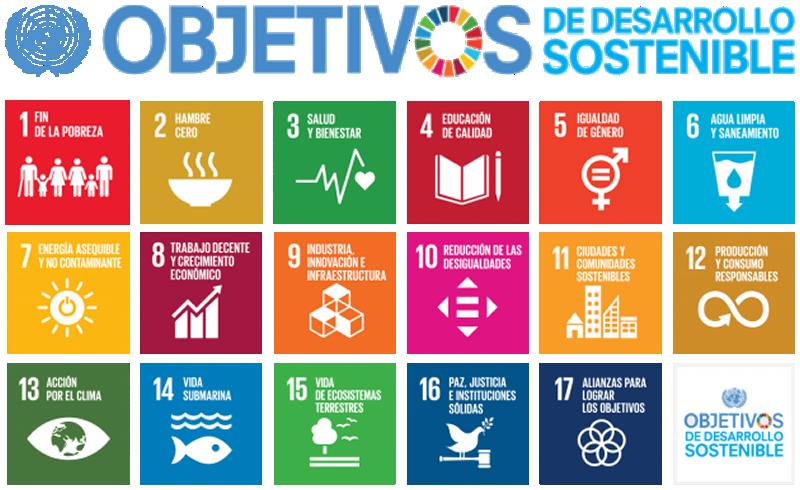 Figura 3. Objetivos de Desarrollo Sostenible. Fuente: Naciones Unidas.