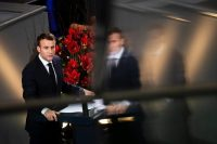 President Emmanuel Macron of France speaking at the German Bundestag in November. Credit Emmanuele Contini/NurPhoto, via Getty Images
