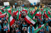 Thousands of exiled Iranians protested against the regime in Paris last week.CreditCreditBenoit Tessier/Reuters