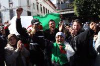 Algerians protest in massive, peaceful rallies against the fifth term of President Abdelaziz Bouteflika. (Mohamed Messara/EPA-EFE/Shutterstock)