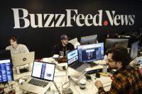 El 15 por ciento de los empleados de BuzzFeed, incluidas decenas de periodistas, perderán su empleo. Credit Drew Angerer/Getty Images