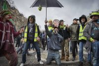 Manifestación de los 'chalecos amarillos' en Francia contra Macron. Kiran Ridley Getty