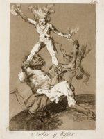 Subir y Bajar, obra de Goya