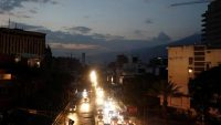 A general view of the city during a second day of blackout in Caracas Mario Bello