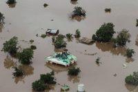 Lundi à Beira, après le passage du cyclone Idai. Photo Rick Emenaket. AFP
