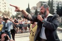 Meir Kahane, American-born founder of the Jewish Defense League who was known for his extreme views, in Jerusalem in 1986. Credit David H. Wells/Corbis, via Getty Images