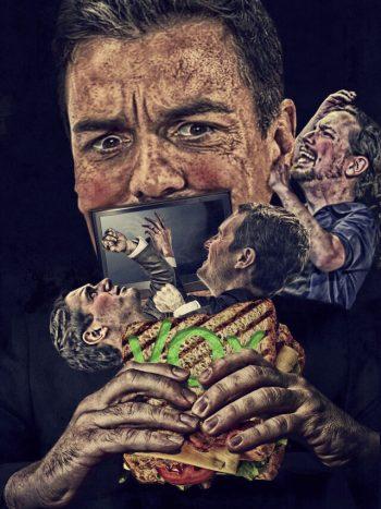 A Sánchez se le atraganta el sándwich
