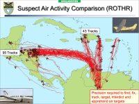 Figura 3. Actividad aérea sospechosa en el Caribe (2010)