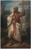 'Don Pelayo, rey de Asturias', de Luis de Madrazo y Kuntz. MUSEO DEL PRADO