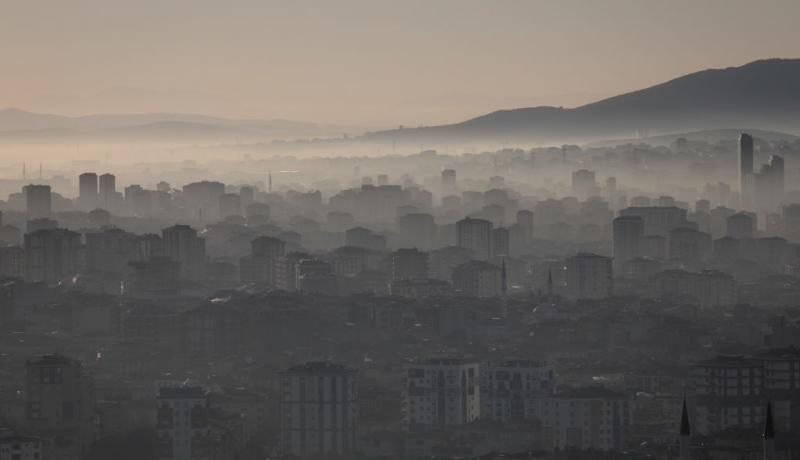 Istanbul on 7 March. Photo: Getty Images.