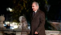 Khalifa Haftar arrives for a conference in Palermo in November 2018. Photo: Getty Images.