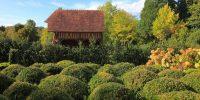 Le jardin du pays d'Auge, classé Jardin Remarquable, à Cambremer, dans le Calvados. NICOLAS THIBAUT/ PHOTONONSTOP