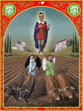 Los bueyes de San Isidro