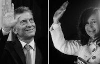 El presidente de Argentina, Mauricio Macri, en marzo de 2019; la expresidenta Cristina Fernández de Kirchner en mayo del mismo año CreditNatacha Pisarenko/Associated Press; Agustín Marcarian/Reuters
