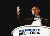 Fernando de la Rúa, el recientemente fallecido expresidente de Argentina, en octubre de 1999 CreditDaniel García/Agence France-Presse — Getty Images